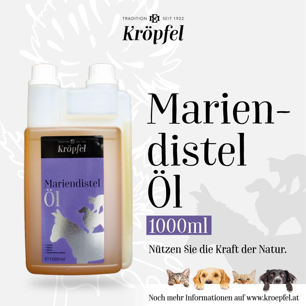 Kröpfel Olej z ostropestřce mariánského 1 litr